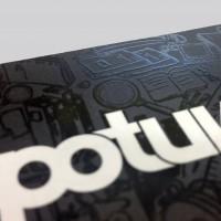 Nobilitazione stampati con inchiostro trasparente